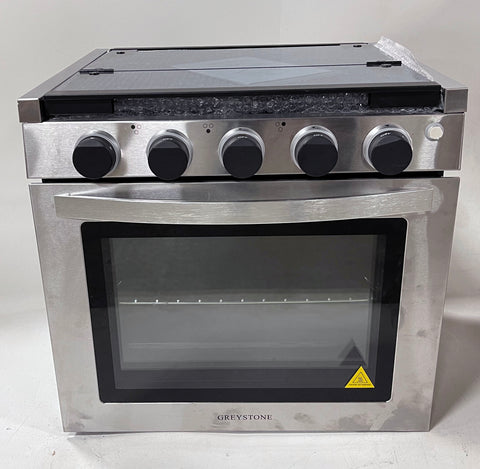 "RV Stove Gas Range 21""  Greystone Stove 