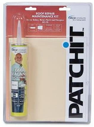 Dicor Corp. 402-PR RV Trailer Camper Sealants Patch-It Roof Repair Kit | Flair Distributiion - Flair Distribution