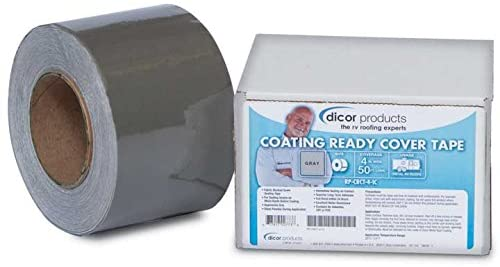 "Dicor RP-CRCT-4-1C 4""X50' Coating Ready Cover Tape 
