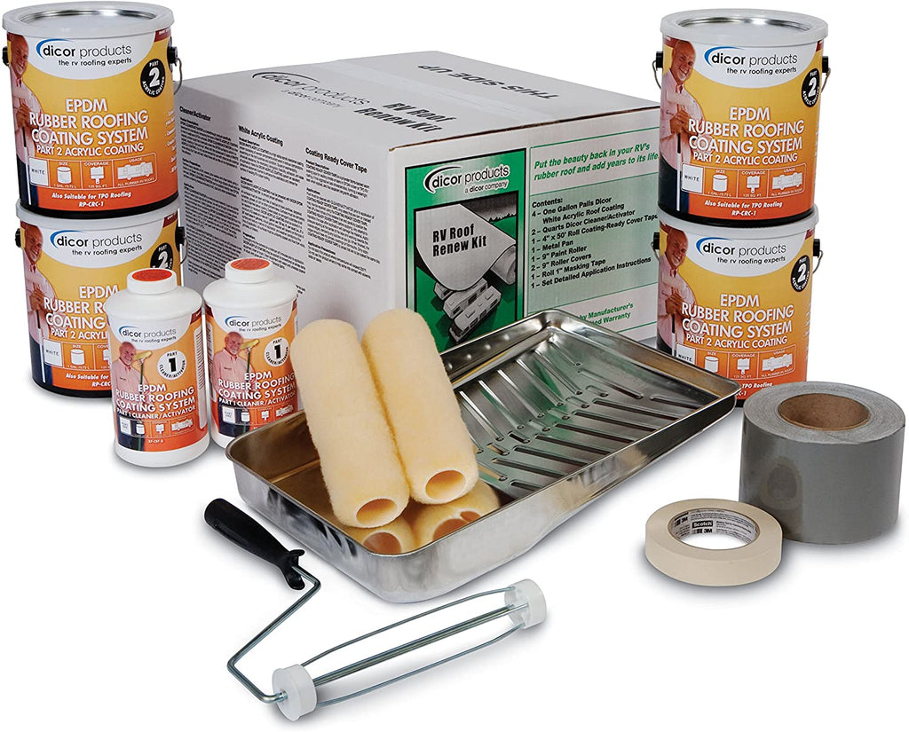 Dicor RP-RRK-30 RV Roof Renew Kit | Flair Distribution - Flair Distribution