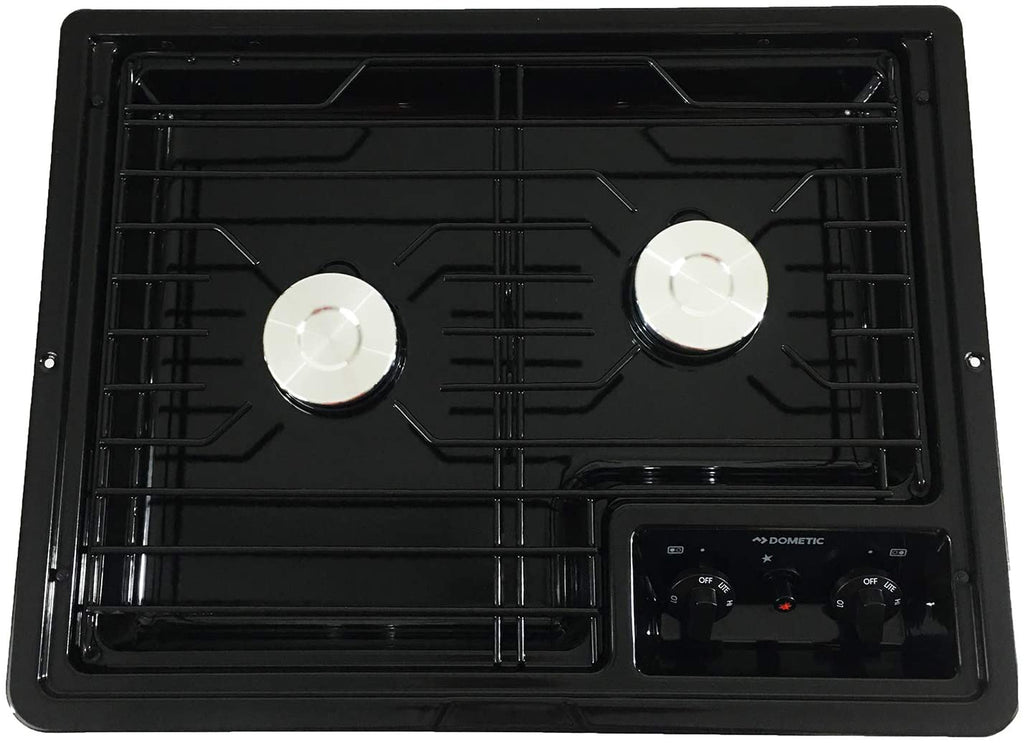 Dometic 50210 2-Burner Propane Cooktop | Flair Distribution - Flair Distribution