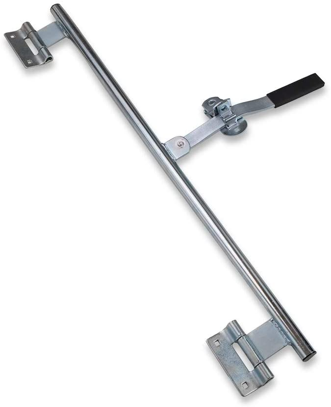 "JAMMY 55"" Trailer Swing Door Hinged Cam Bar Lock Hasp Latch Handle Utility Cargo - Flair Distribution"