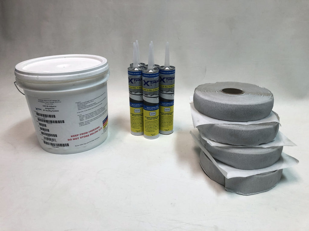Rubber Roof Install/Repair Kit (Small and Large) | Flair Distribution - Flair Distribution