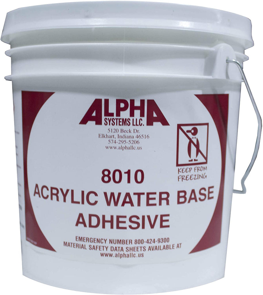 RV Adhesive | Alpha Systems 862399 8010 Modified Acrylic Bonding Adhesive - 1 Gallon - Flair Distribution