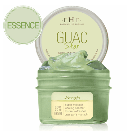 Guac Star Avocado Mask