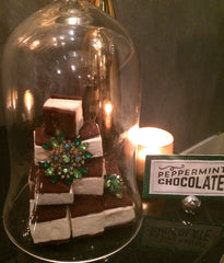 Mint Chocolate Malvi Marshmallow Confections with Emerald Accents