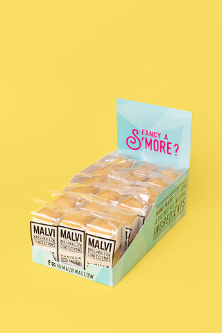 Malvi S'mores Party Pack - 18 x S'mores 2-Packs