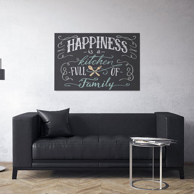 Meaning Of Happiness Canvas Wall Art