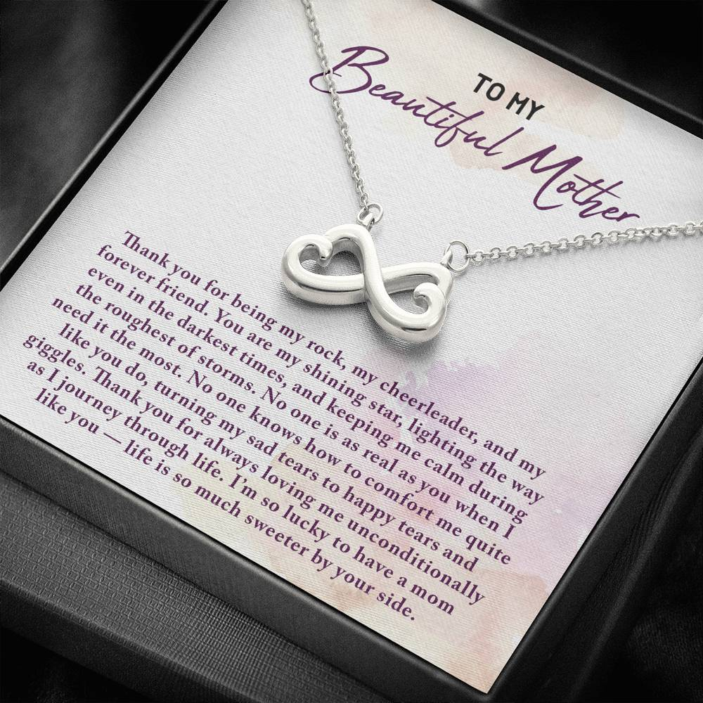 Mother Infinity Heart Necklace