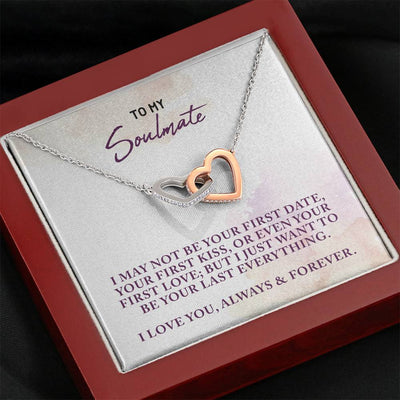 Soulmate Interlocked Hearts Necklace