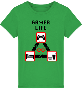 T-shirt Gamer Life Junior - Kangae Store