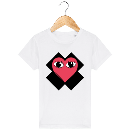 T-Shirt Regard de Coeur Junior - Kangae Store