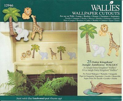 Wallies Daisy Kingdom 25 Jungle Jamboree Wallpaper Cutouts - all4wallswall-paper