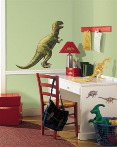 RoomMates Giant Dinosaur Peel & Stick Mural Applique by Candice Olson - all4wallswall-paper