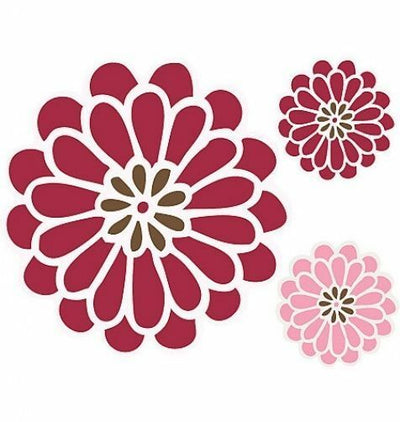 Waverly Daisy Peel & Stick Mural Appliques - all4wallswall-paper