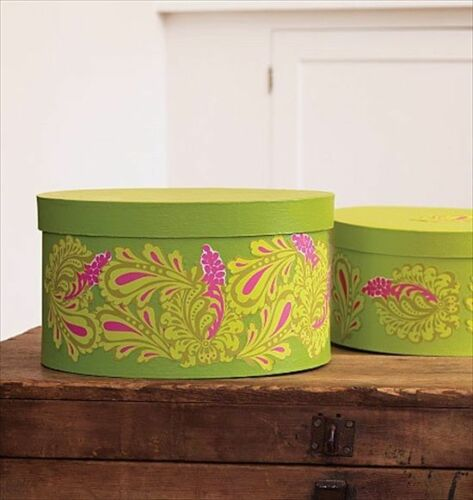 Lime Green and Hot Pink Paisley Peel and Stick Wallies - all4wallswall-paper