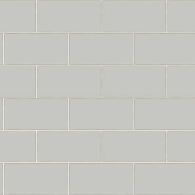 Grey Subway Tile on Easy Walls Wallpaper by Chesapeake - all4wallswall-paper