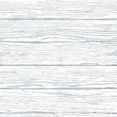 Tropical Beach Key West White with Blue Weathered Easy Walls Wallpaper - all4wallswall-paper