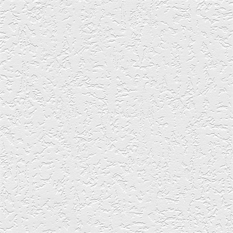 Plaster Raised White Textured Paintable Wallpaper - all4wallswall-paper