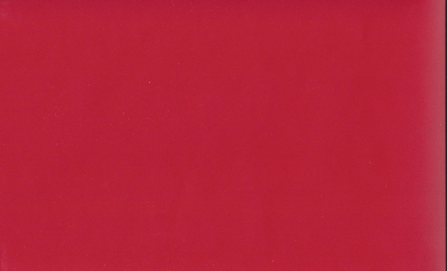 "3.75"" Solid Red Peel & Stick Wallpaper Border"