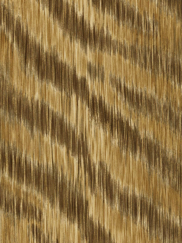 Contemporary Multiple Shades of Brown Zebra Skin Unpasted Wallpaper - all4wallswall-paper