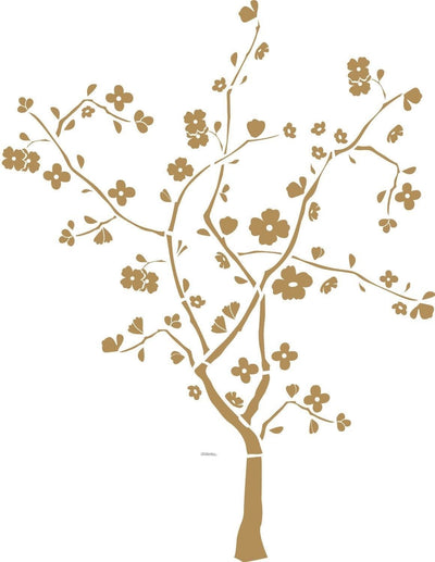 Cherry Blossom Tree Mini Mural Peel and Stick Appliques - all4wallswall-paper