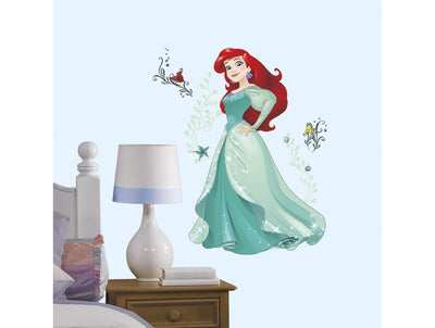 Disney Roommates Princess Ariel the Little Mermaid Mini Mural Peel & Stick - all4wallswall-paper