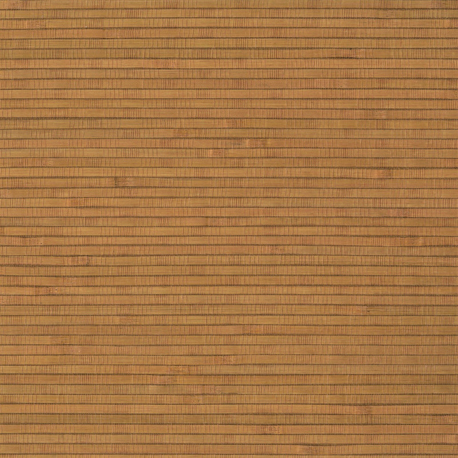 Golden Brown Bamboo Unpasted Real Textured Grasscloth Wallpaper - all4wallswall-paper