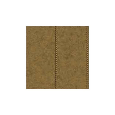 Gold Nail Head Trim on Faux Brown Leather on Easy Walls Wallpaper - all4wallswall-paper