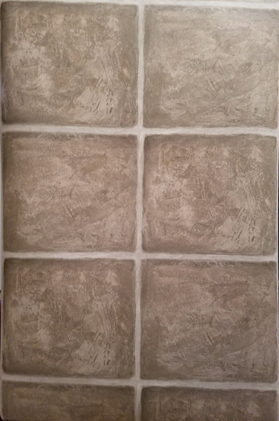 Seabrook Designs Neutral Tones Large Tile Wallpaper - all4wallswall-paper