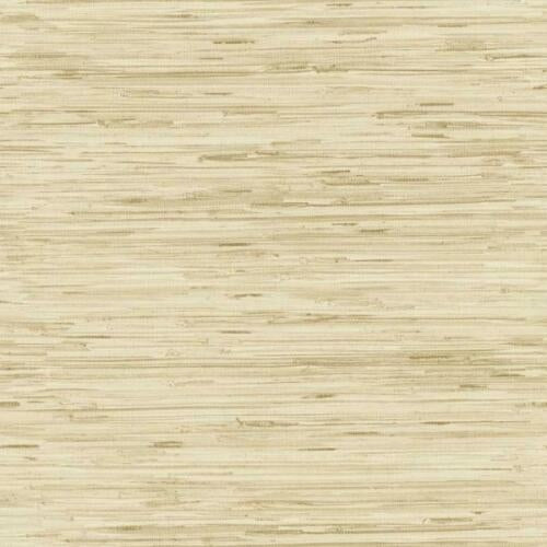 York Beige with Brown on Faux Textured Grasscloth Unpasted Wallpaper - all4wallswall-paper
