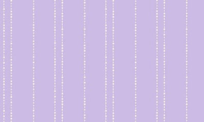 Disney Purple with White Pearl Stripes Wallpaper - all4wallswall-paper