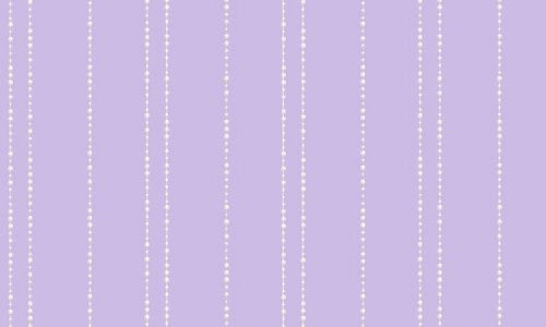 Disney Purple with White Pearl Stripes Wallpaper