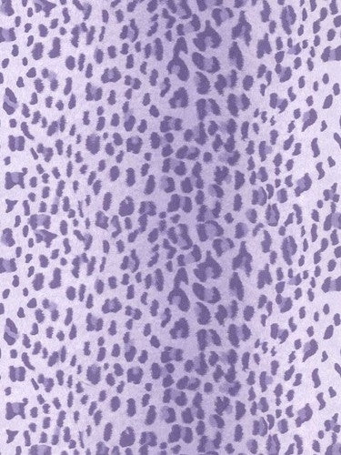 Leopard Animal Purple Stripe on Sure Strip Wallpaper - all4wallswall-paper