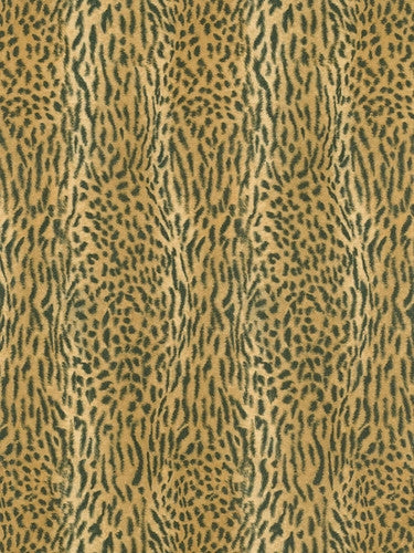 Leopard Animal Contemporary Stripe on Sure Strip Wallpaper - all4wallswall-paper