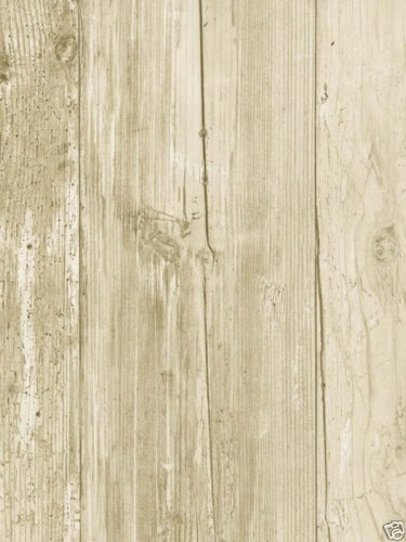 White Washed Faux Wood with Knots on Sure Strip Wallpaper - all4wallswall-paper