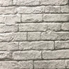 Magnolia Home Joanna Gaines Grey Realistic Brick and Mortar on Sure Strip Wallpaper - all4wallswall-paper