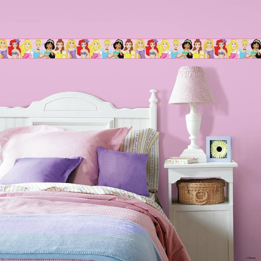 Disney Princesses / Princess Peel and Stick Wallpaper Border - all4wallswall-paper