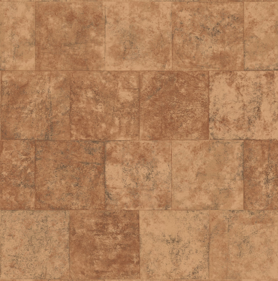 Sandstone Blocks Faux Easy Walls Wallpaper