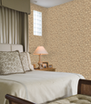 Sepia Taupe Creek Rock on Easy Walls Wallpaper - all4wallswall-paper