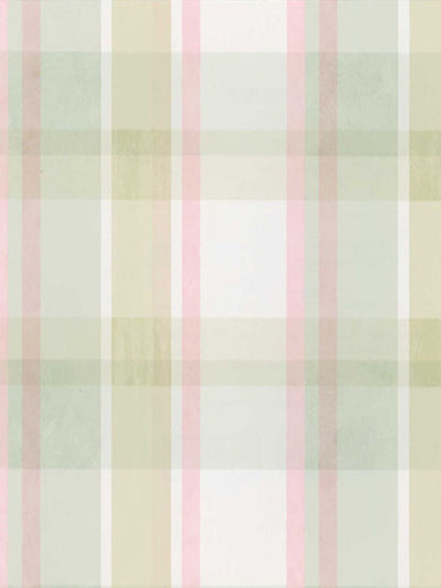 Pastel Coastal Plaid Multicolor Easy Walls Wallpaper - all4wallswall-paper