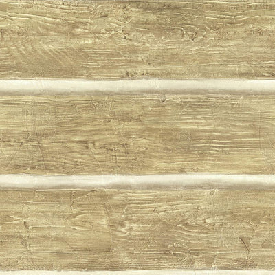 Chinking Maple Wood Panel Easy Walls Rustic Log Lodge Wallpaper - all4wallswall-paper