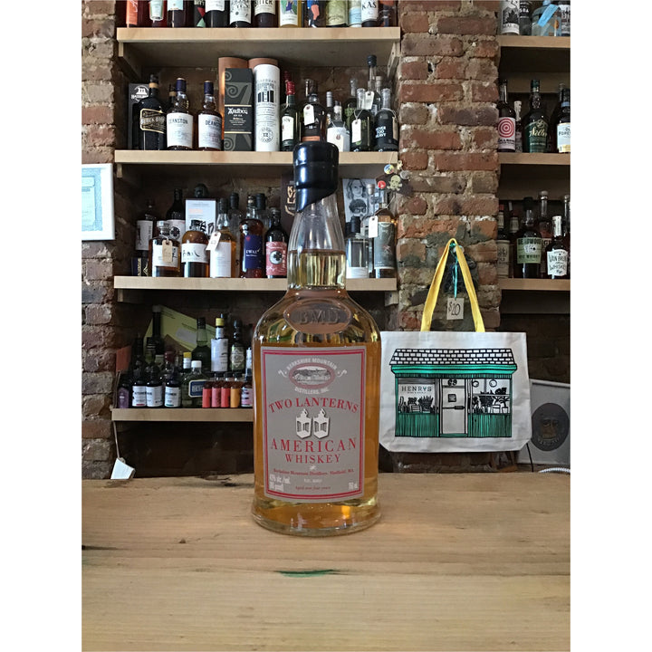 Berkshire Mountain Distillers, Two Lanterns American Whiskey