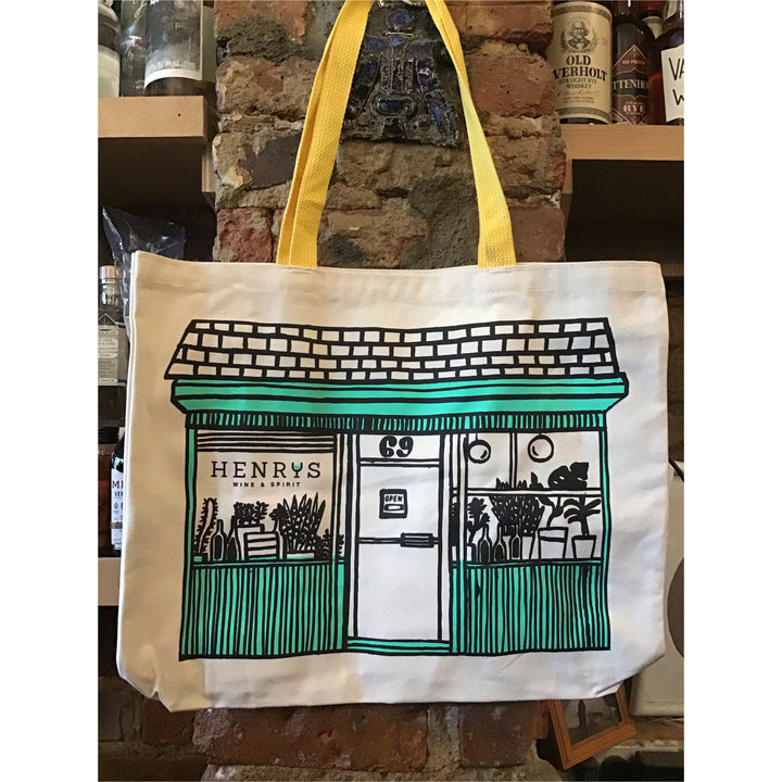 Henry's Wine and Spirit Tote Bag