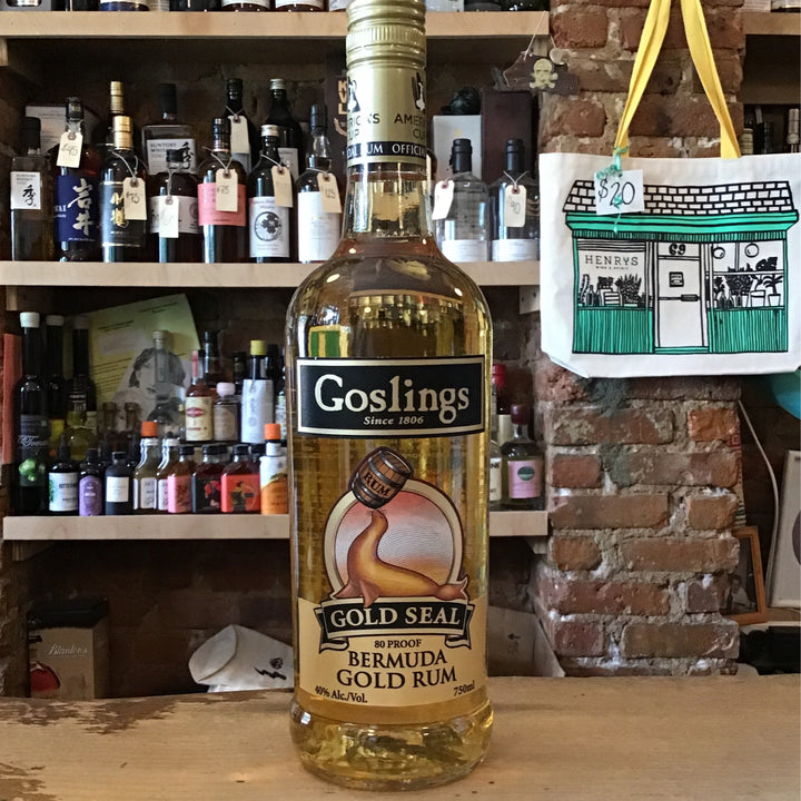 Goslings, Gold Seal Rum