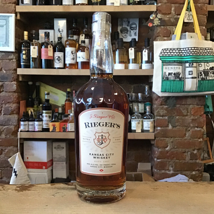 J. Rieger & Co. Kansas City Whiskey