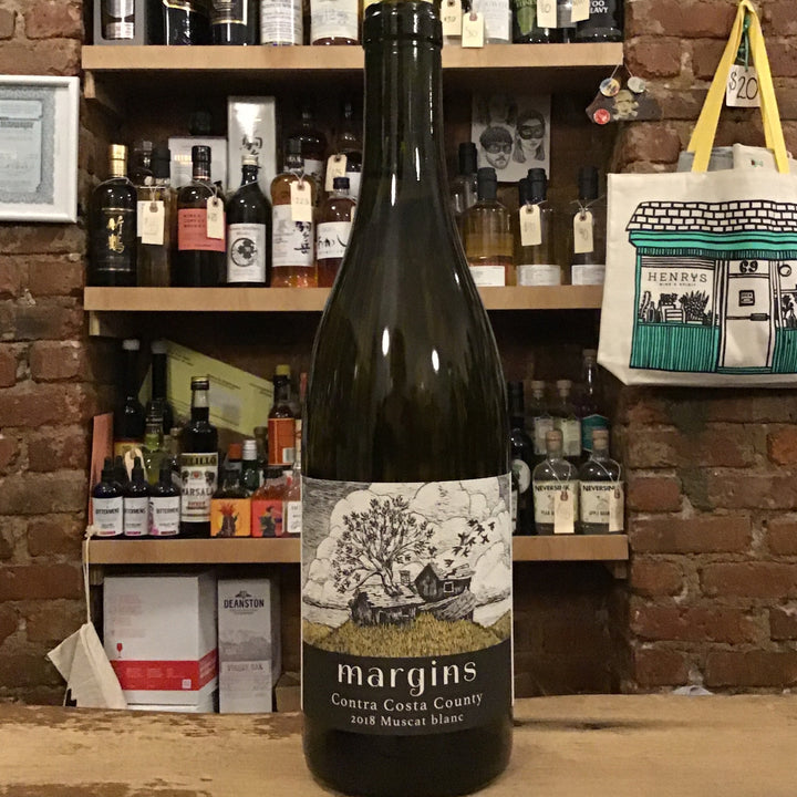 Margins Wine, Muscat Blanc Contra Costa County (2018)