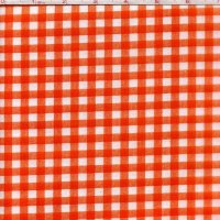 Medium Gingham Orange