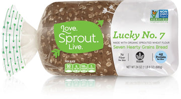 Love Sprout Live, Lucky #7 Bread 24 oz