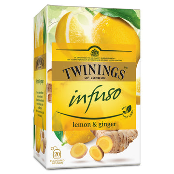 Twinings Infuso Lemon and Ginger, 20x1.5g